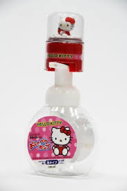 日本 HELLOKITTY 音樂洗手乳泡沫製造瓶