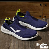 PONY AQUA H2O 藍紫螢光 網布 襪套 白底  輕量  慢跑 男 (布魯克林) 2017/5月 71M1AQ61NB