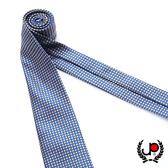 極品西服 100%絲質義大利手工領帶_黃底細格紋(YT5073)