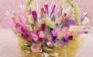 一定要幸福哦~~幸福花朵棒棒糖40公分~(20支300元)~婚禮小物、結婚宴客、二次進場