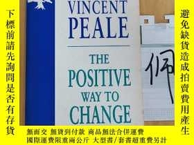 二手書博民逛書店NORMAN罕見VINCENT PEALE THE POSITIVE WAY TO CHANGE YOUR LIF