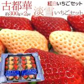 【果之蔬-全省免運】日本奈良縣雙色草莓x1箱(2盒/箱 每箱約600g±10%)
