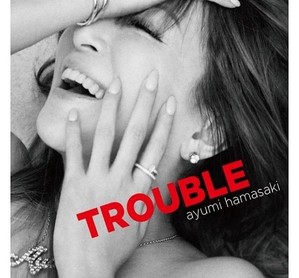 濱崎步 TROUBLE 台灣限定版B CD附DVD (購潮8) 免運