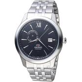 ORIENT東方錶 Classic Design系列簡約日期機械錶 FAL00002B