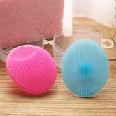 搓澡用品-嬰兒硅膠洗頭刷寶寶洗澡搓澡海綿神器梳子去頭垢洗發器軟毛 糖糖日繫女屋
