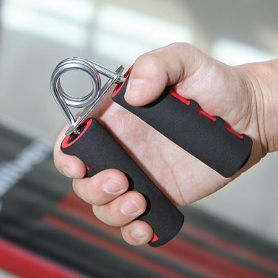 ✭慢思行✭【N437-1】泡棉握力器 專業 健身器材 練手力 臂力握力器 手指 復健 鍛鍊肌力