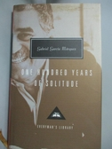 【書寶二手書T2/原文小說_KSN】One Hundred Years of Solitude_Garcia Marquez, Gabriel/ Rabassa, Gregory