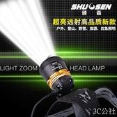 超亮充電式150w頭戴T6手電筒釣魚米打獵強光防水頭燈礦燈
