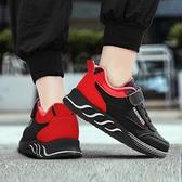 男童鞋春季男童運動鞋兒童鞋子新款皮面6中大童7透氣8防水9歲防滑