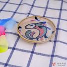堯峰陶瓷 日本美濃燒|彩繪魚醬油碟 單入 | 擺盤必備|醬油碟|小菜碟|泡菜碟|水果擺盤碟