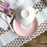 週年慶優惠-歐式骨瓷高檔英式手茶杯咖啡杯