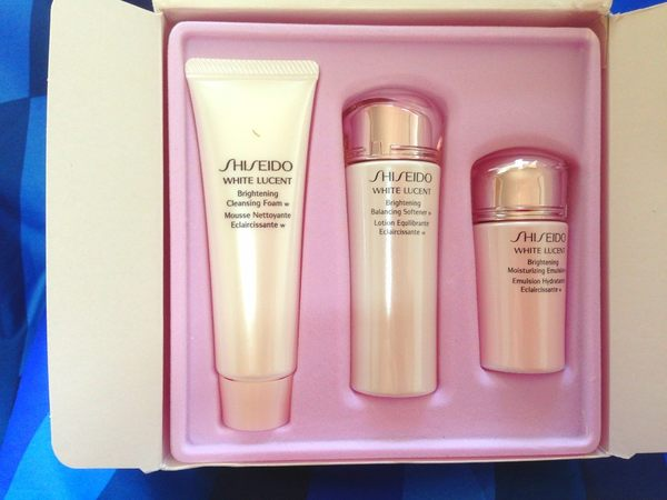 SHISEIDO資生堂美透白3品組 美透白活膚乳+活膚乳W+潔膚皂W 無盒裝