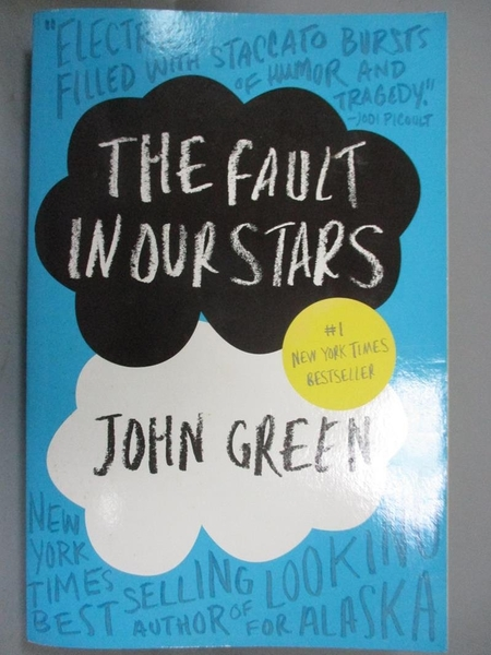 【書寶二手書T9/原文小說_MQK】The Fault in Our Stars_John Green