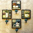 掛飾擺件-美式復古盆栽畫掛勾居家壁掛擺飾用品73a23【時尚巴黎】