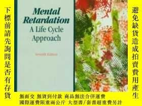 二手書博民逛書店Mental罕見Retardation: A Life Cycle Approach (7th Edition)-
