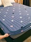 夾棉床笠單件隔尿防水床罩床單防滑固定加厚席夢思床墊防塵保護套 幸福第一站