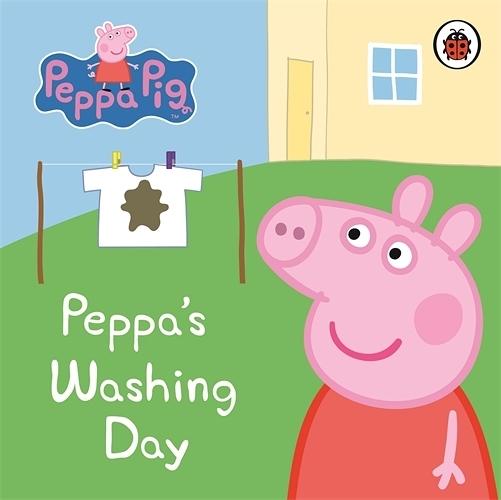 Peppa Pig:Peppa's Washing Day 佩佩豬洗衣服 精裝硬頁書