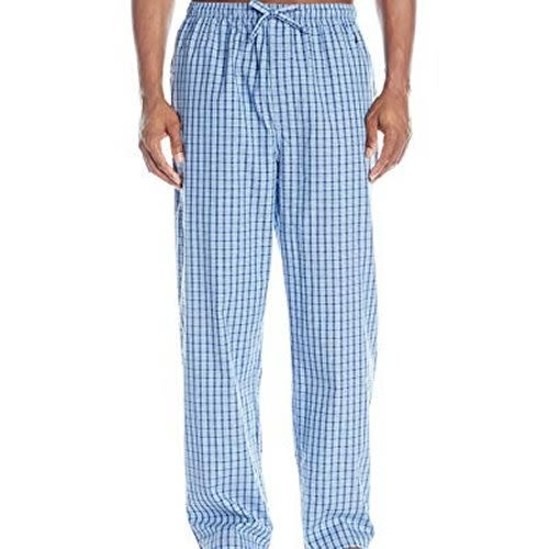 NAUTICA 舒適法藍色格子睡褲
