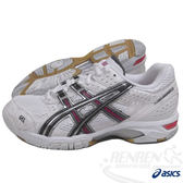 ASICS亞瑟士 女用排羽球鞋Gel-Rocket 5 (22.5/24.5號) B053N-0179*室內鞋69折出清*