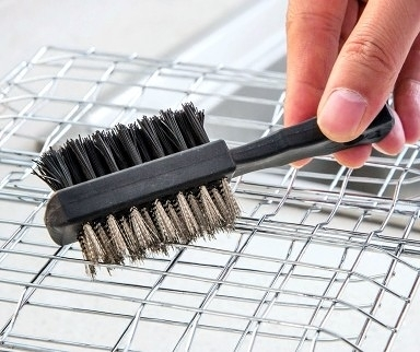 [協貿國際]去污燒烤盤燒烤網專用清潔刷10入