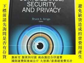 二手書博民逛書店The罕見Sage Encyclopedia of Surveillance,Security,And Priva