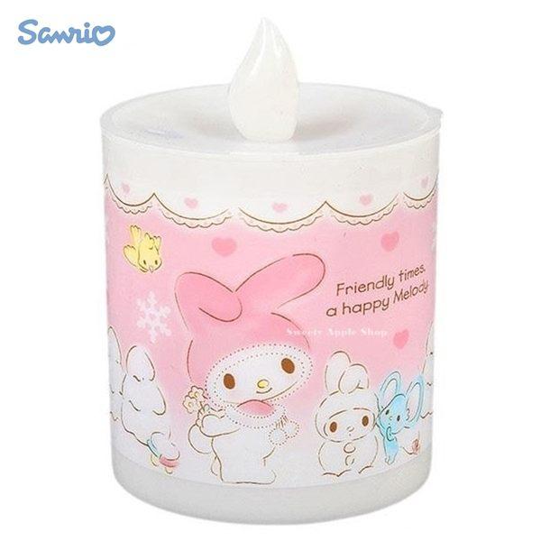 日本限定 美樂蒂 蠟燭造型 小夜燈