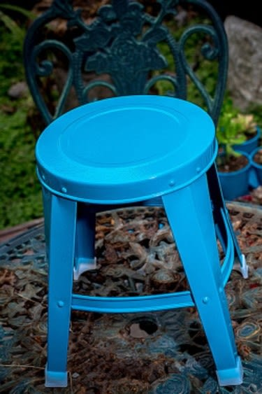 協貿國際植物花托花凳子景觀板凳1入