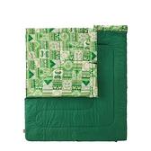 【南紡購物中心】【Coleman】 2 IN 1家庭睡袋 / C10 / CM-27256 - 早點名露營生活館