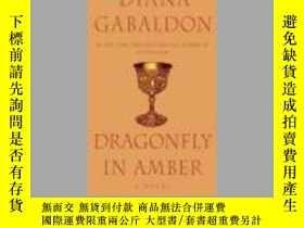 二手書博民逛書店DRAGONFLY罕見IN AMBER(蜻蜓在琥珀)Y17656