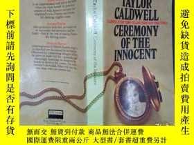 二手書博民逛書店Taylor罕見caldwell: ceremony of th