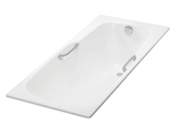 【麗室衛浴】美國第一品牌 KOHLER 原裝  K-8268T-0 Prelude 鑄鐵浴缸150*70cm(有扶手孔)