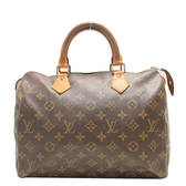 LOUIS VUITTON LV 路易威登 原花肩背手提波士頓包 Speedy 30 M41108 【BRAND OFF】