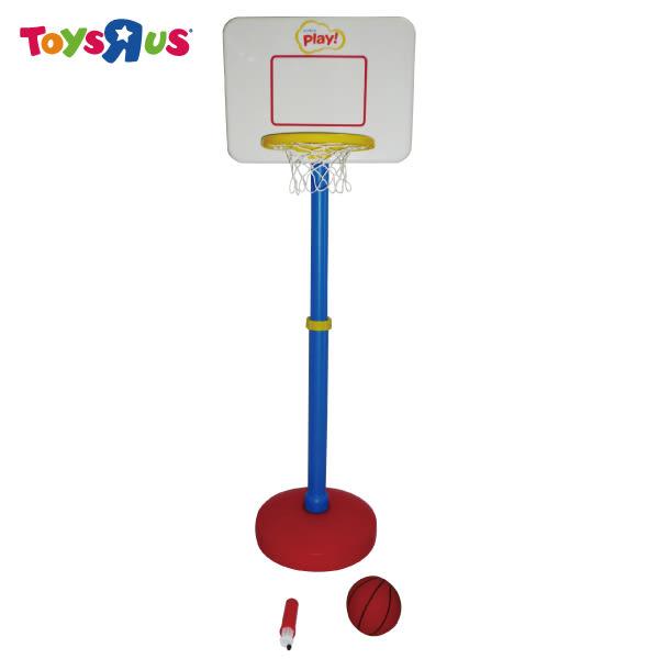 玩具反斗城 STATS 兒童可調式籃球架組