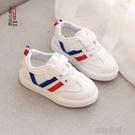 快速出貨 女童運動鞋新款男童鞋子女童軟底休閒小白鞋兒童跑步板鞋