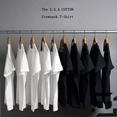 純棉短袖打底衫T恤男女體恤純黑內搭衣服純白【左岸男裝】