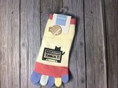 【京之物語】日本親自帶回STREAM錄音帶小黑貓女性彈性五指襪