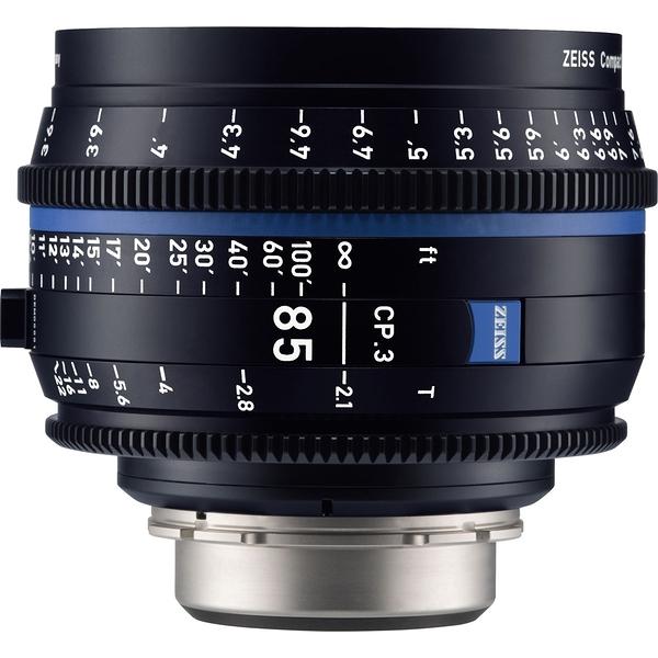 【預購】蔡司 Zeiss CP.3 85mm T2.1 Feet 電影定焦鏡頭 公司貨
