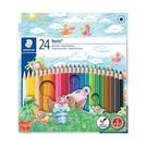 施德樓 快樂學園 油性色鉛筆 24色/盒...