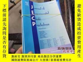 二手書博民逛書店JOURNAL罕見OF EXPERIMENTAL CHILD P
