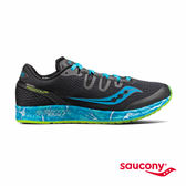 SAUCONY FREEDOM ISO 專業訓練鞋-黑x湛藍海洋