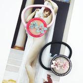 【粉紅堂 髮飾】甜美的皇冠時光水鑽髮束 *粉紅色 / 黑色 *