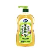 水晶肥皂食器洗滌液青蘋果香1000ML【愛買】