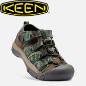【KEEN 美國 兒童 護趾涼鞋《咖啡/迷彩》】1016595/水陸兩用鞋/休閒涼鞋/兒童涼鞋★滿額送