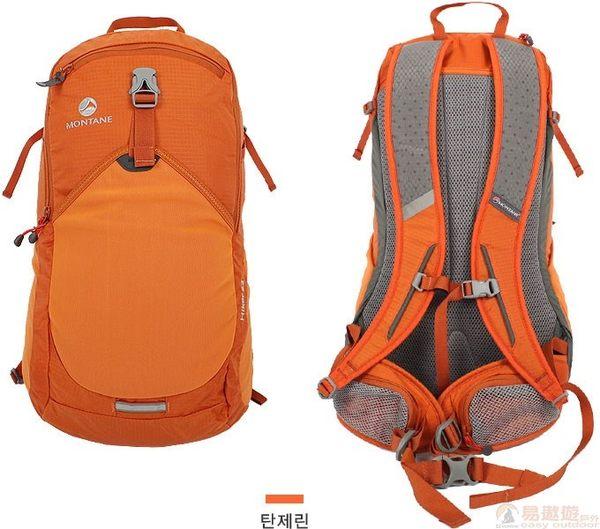 Montane 韓版英國 海克 健行背包22升 T橘 MTAAUEDP017 背包 腰包 旅行包【易遨遊戶外用品】