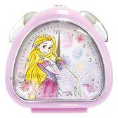 〔小禮堂〕迪士尼 長髮公主 三角形鬧鐘《紫.摸頭髮》桌鐘.時鐘 4548626-09083