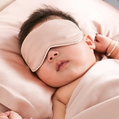 嬰兒眼罩 依紗貝拉BOWEINA嬰兒真絲眼罩100%桑蠶絲遮光透氣親膚舒適助睡眠-Ballet朵朵