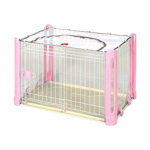 寵物家族-日本Marukan-精緻狗屋 - 粉(MK-DP-460)