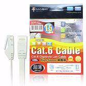 【貓頭鷹3C】MAGIC Cat.6 超薄 Hight-Speed 網路線 - 1.5M (1.5M)[CBH-CAT6-1.5M]
