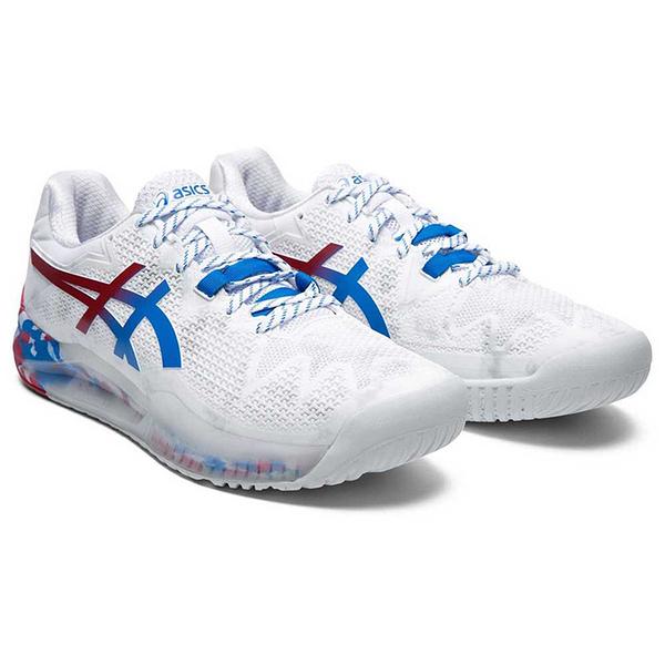 ASICS 男網球鞋 GEL-RESOLUTION 8 L.E. 復刻東京 1041A111-100 贈護腕 20SSO