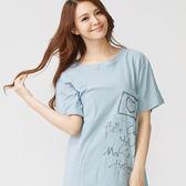 居家服 / 睡衣/ 洋裝 -【Wonderland】時尚派對(藍)